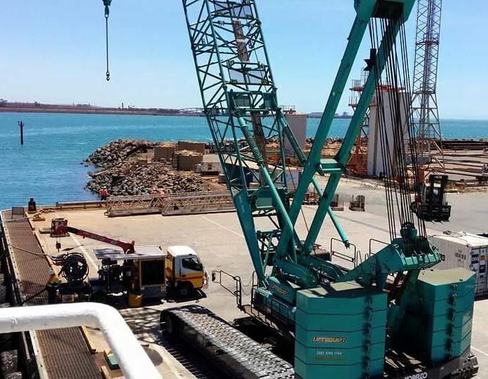 On site Crane
