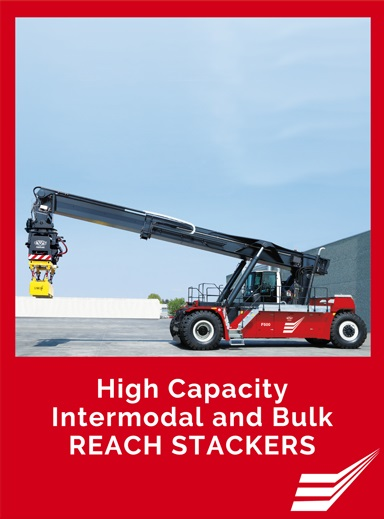 High Capacity Reach Stackers