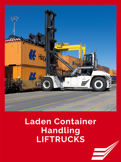Laden Container