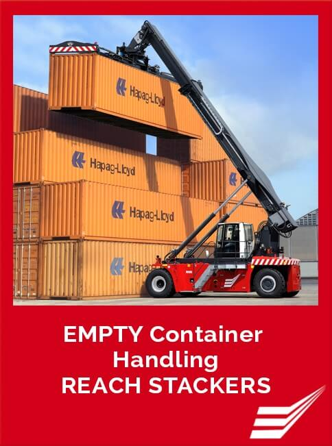 Empty Containter Handling Reach Stackers