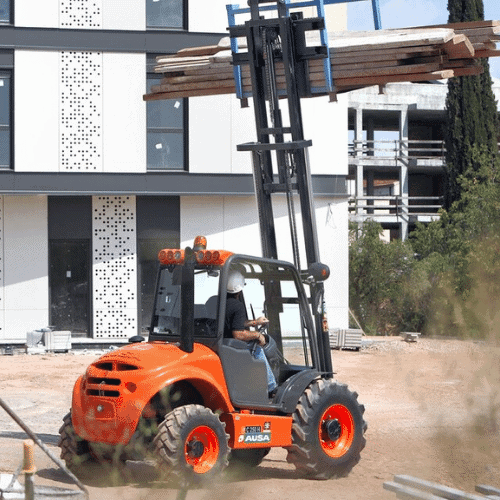 Ausa All Terrain Forklifts in Perth