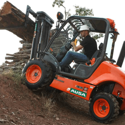 Ausa All Terrain Forklifts