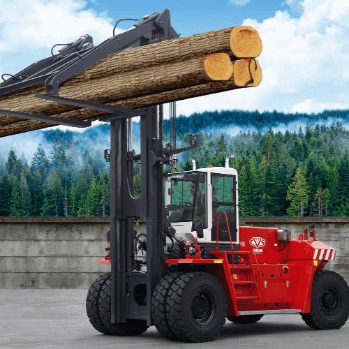 Ferrari Forklift solutions for rough terrain