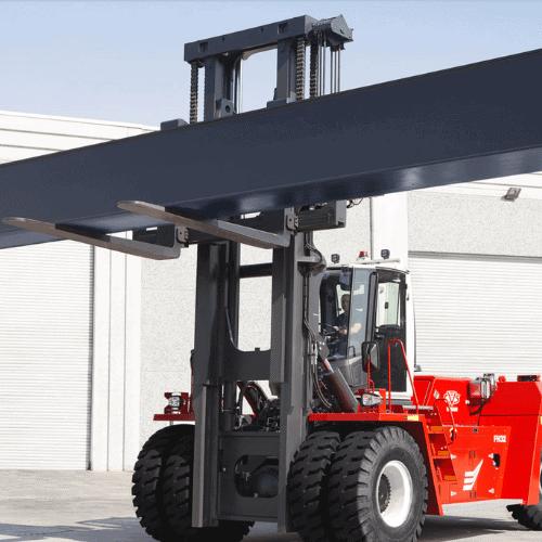 Ferrari Forklifts In Action In Australia