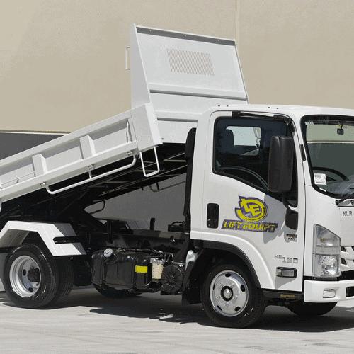 Tipper Truck Lift Equipt
